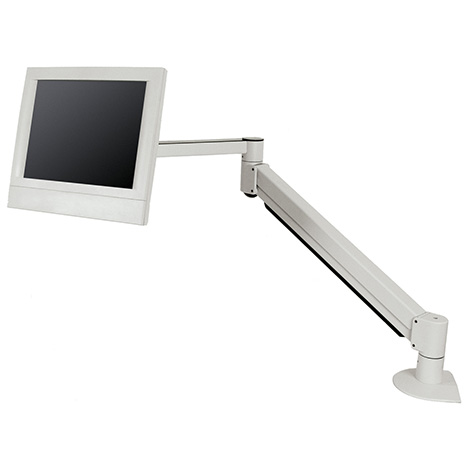 7601-14 - Long-reach flat panel arm with internal cable management (42