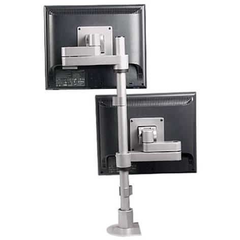9112-D-FM - Articulating dual LCD mount