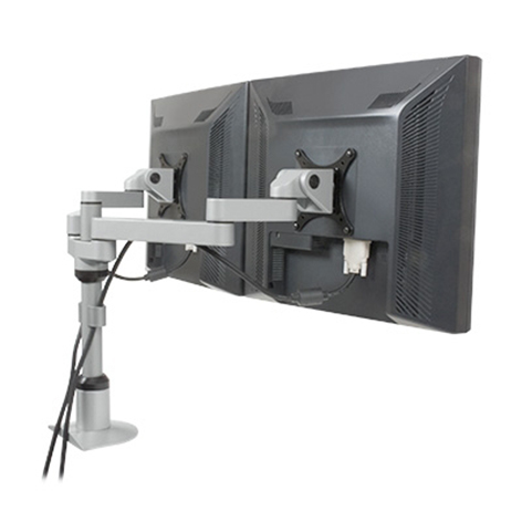 9124-FM - EURO Series - Side-by-side flat panel mount