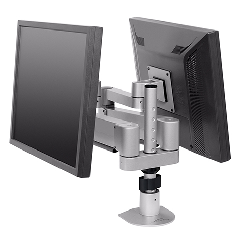 Innovative Office Products' Duopod™ LCD Mount.