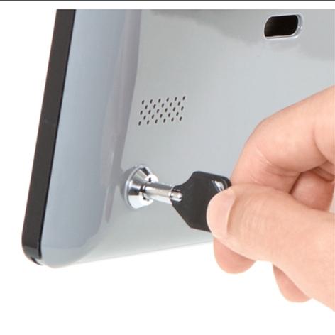 Secure iPad® Wall Mount