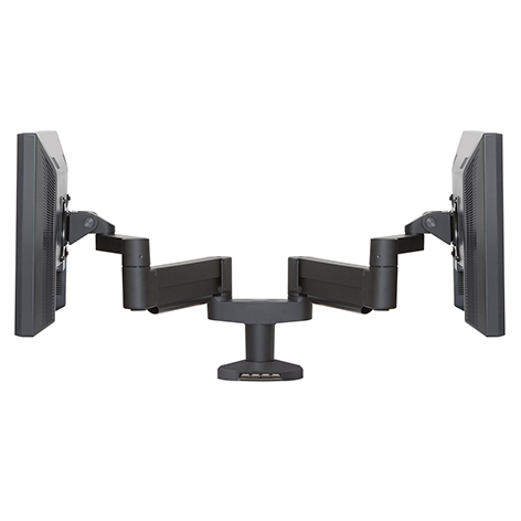 7000 Busby-8408 – Dual LCD Mount with Integrated USB Hub